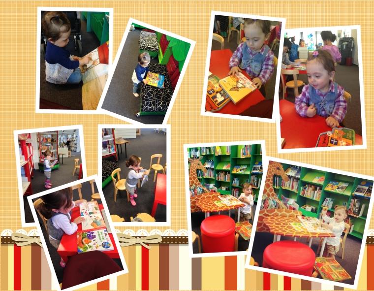 Bücherhalle Collage 1