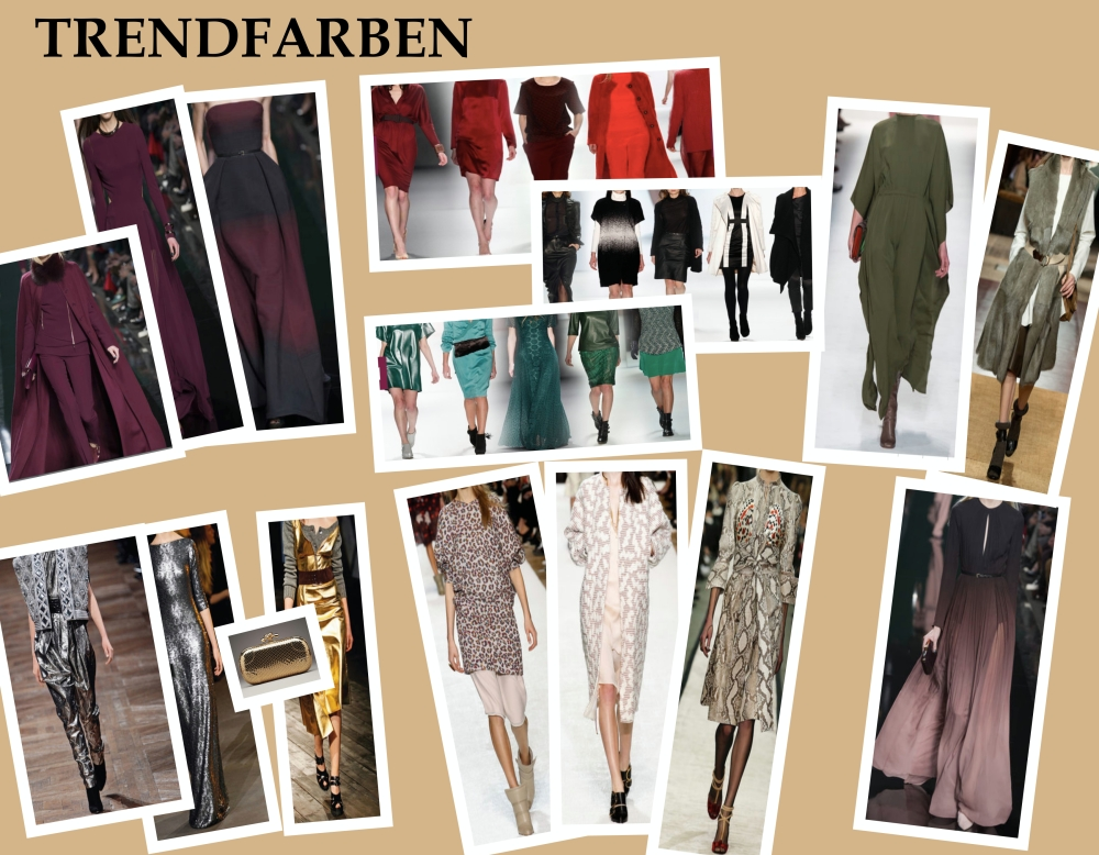 Mode Trends Herbst /Winter 2014/ 2015 (1/6)
